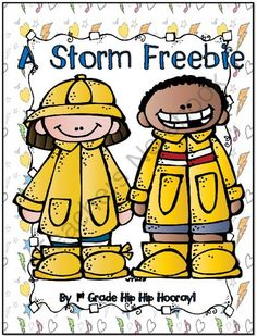 Weather...Storms from First Grade Hip Hip Hooray on TeachersNotebook.com -  (6 pages)  - Writing about storms.