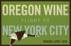 Oregon Wine Flight to New York City - have fun @grapefriend.com!! Cool video of NY's hip & trendy City Winery--