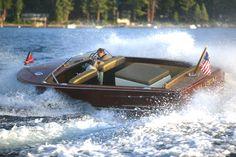 1956 Chris-Craft 23' Continental Chris Craft Boats, Vintage Boats, Old Boats, Speed Boats, Wooden Boats, Water Crafts, Vintage Wood, Classic, Veil