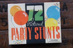 Whitman 72 Pictured Party Stunts Card Game/Charades ~ 1935 ~ Vintage Black Americana ~ Complete Set by smileitsvintage on Etsy