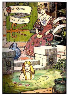 """The Queen and Elise"" - Gordon Robinson  ""Hans Andersen's Fairy Tales"""