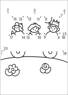 STCI, points à relier coloriage Activity Sheets For Kids, Mazes For Kids, Kindergarten Morning Work, Preschool Kindergarten, Motor Skills Activities, Preschool Activities, Dots Game, Numbers Preschool, Color By Numbers