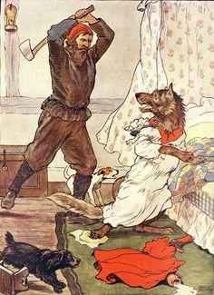 RedRH  Killing The Wolf  By Frank Adams