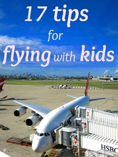 Great tips for flying with kids and making the experience somewhat enjoyable + a video showing the real experience of flying with kids. Click to watch and see us still laughing