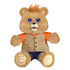 teddy ruxpin and vintage official return of the storytime and magical bear new find this pin and more on most popular toys for christmas 2017