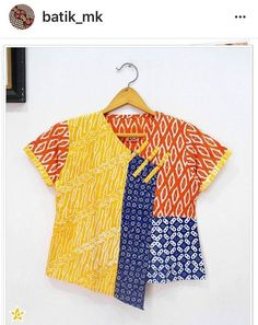 Trendy Ideas Sewing For Beginners Clothes Women Products Sewing Blouses, Sewing Shirts, Blouse Batik, Batik Dress, Amarillis, Batik Fashion, Diy Tops, Schneider, Sewing For Beginners