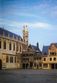 PK1246. Brugge. Basilika des Heiligen Blutes.