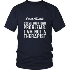 Solve Your Own Problems Shirt