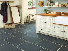 Home › Type › Antislip Tiles › Rustic Black Slate Floor Tiles Black Slate Floor Tiles, Dark Tile Floors, Grey Kitchen Floor, Slate Flooring, Kitchen Tiles, Kitchen Flooring, Slate Tiles, Black Floor, Flooring Ideas