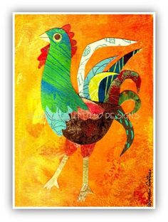 rooster art for kids - Google Search