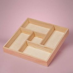 8 sectionedwooden box