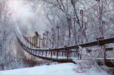Slippery Bridge by Natalibel