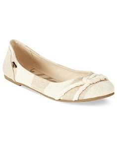 Roxy Shoes, Adin Ballet Flats - All Women's Shoes - Shoes - Macy's  I have the blue ones and love them!!!