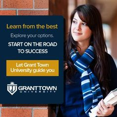 Grant Town University's always there to help its students !    #GrantTownUniversity #Education #OnlineEducation
