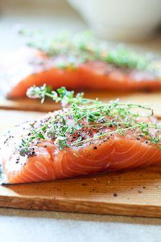 Cedar Plank Salmon | by Sonia! The Healthy Foodie