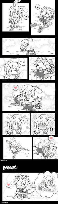 Foxy and Bunny (NaLu)