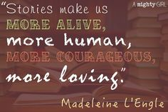Quote from Madeleine L'Engle