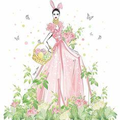 Megan Hess Illustration, Illustration Artists, Mats Gustafson, Kerrie Hess, Easter Drawings, Fashion Sketches, Fashion Illustrations, Fashion Art, Winter