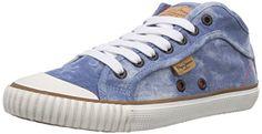 Pepe Jeans London INDUSTRY BASIC DENIM Damen Sneakers - http://on-line-kaufen.de/pepe-jeans/pepe-jeans-london-industry-basic-denim-damen