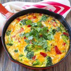 Awesome Garden Recipes Easy Garden Veggie Frittata Recipe High Protein Healthy Fitness in ucwords] Easy Healthy Recipes, Healthy Snacks, Diet Recipes, Vegetarian Recipes, Easy Meals, Cooking Recipes, Salad Recipes, Mexican Recipes, Fruit Recipes
