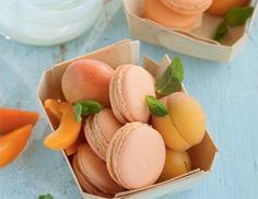 Marillen-Joghurt-Macarons Rezept