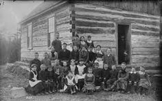 I chose this picture to represent Canadian life in the 1900's. You can see how different the houses look compared to today and how skinny the kids were because there wasnt as much food then compared to today. Also the families were a lot bigger than today.