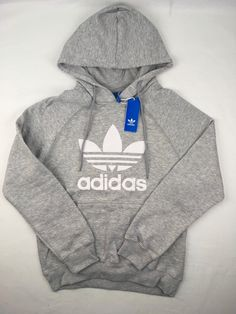 super popular 5d6e3 af937 Men s Clothing Mens Adidas Hoodie Trefoil Sweatshirt Pullover Navy Black  Maroon Grey S M L XL