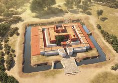 The Iberian tartesic sanctuary of Cancho Roano from around the 6th Century BCE by J.R. Casals