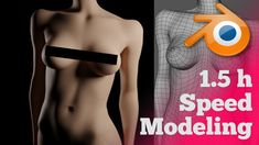 Speed Modeling a Girl Bust in 15 hours [nudity]