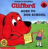 Auntie, who is a dog trainer, thinks Clifford needs to learn obedience, but to Emily Elizabeth the big red dog is perfect already.   E BRI