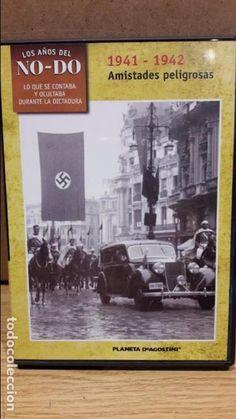 LOS AÑOS DEL NO-DO. 1941-1942. AMISTADES PELIGROSAS. DVD / PLANETA / LUJO.
