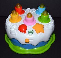 Leapfrog Counting Candles Birthday Cake Ebay