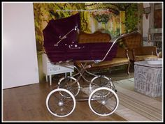 Retro Vintage, Vintage Pram, Prams And Pushchairs, Baby Carriage, Baby Dolls, Baby Strollers, Pets, Children, Accessories
