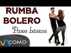 Pasos básicos de la Rumba bolero - YouTube