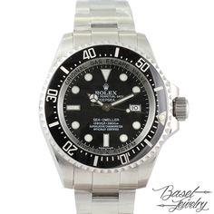 二手勞力士深海黑盤系列 PRE-OWNED ROLEX 116660 DEEPSEA BLACK DIAL-ST00028 HKD 78,000.00 USD 10,077.00