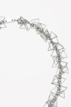 Triangle bead necklace
