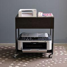 Flat-Bar Printer Caddy #WestElm