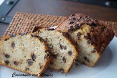 Cocinando con Montse: Plum cake de manzana y pepitas de chocolate