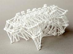 Theo Jansen's walking 'Strandbeest' sculptures