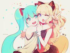 Imagem de vocaloid, hatsune miku, and seeu