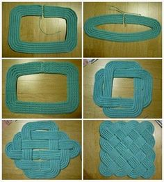DIY Braided Crafts This is a very useful home decoration. For more craft idea,…