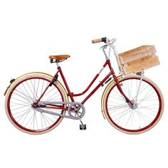 Znalezione na Fabie - szczyt hipsterstwa ze skrzynką na jabłka. Rama pochodzi z odzysku ze starego roweru. Niezła jest też cena: 789€...