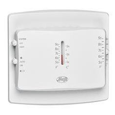 Hunter 40120 Electronic Mechanical thermostat - heat only by Hunter. Save 6 Off!. $14.11. Hunter Electronic mechanical thermostat is easy to use, is more accurate, has a larger read out display has updated aesthetics at the same cost.