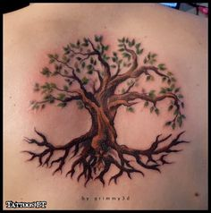tree of life tattoo for back | back tree of life - tattoos ideas
