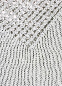 Knitting Kit Pima Cotton Blanca Julep Tee 2