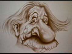 Learn To Draw Caricature Creative Words, Creative Art, Learn To Draw, Creative Photography, Caricature, Lion Sculpture, Statue, Drawings, Happy