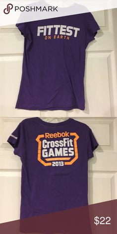 Reebok CrossFit Tee Excellent Condition Reebok CrossFit Tee! Reebok Tops Tees - Short Sleeve