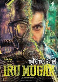 Watch Iru Mugan Full Movie online. It is an upcoming Tamil Science Fiction movie, Starring by Vikram, Nayantara and Nithya Menen.
