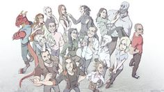 critical role - look at this amazing fan art!