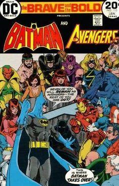 Batman & The Avengers